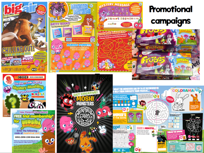 promotional campaigns